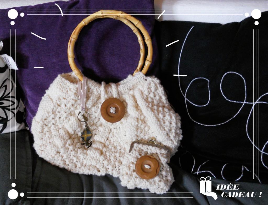 Un petit sac en laine pour l'hiver
