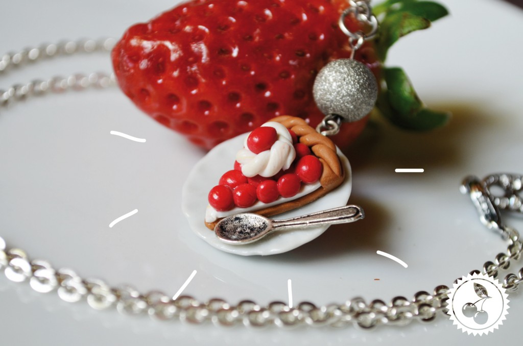 "Collier gourmand ""Tarte aux fruits"""
