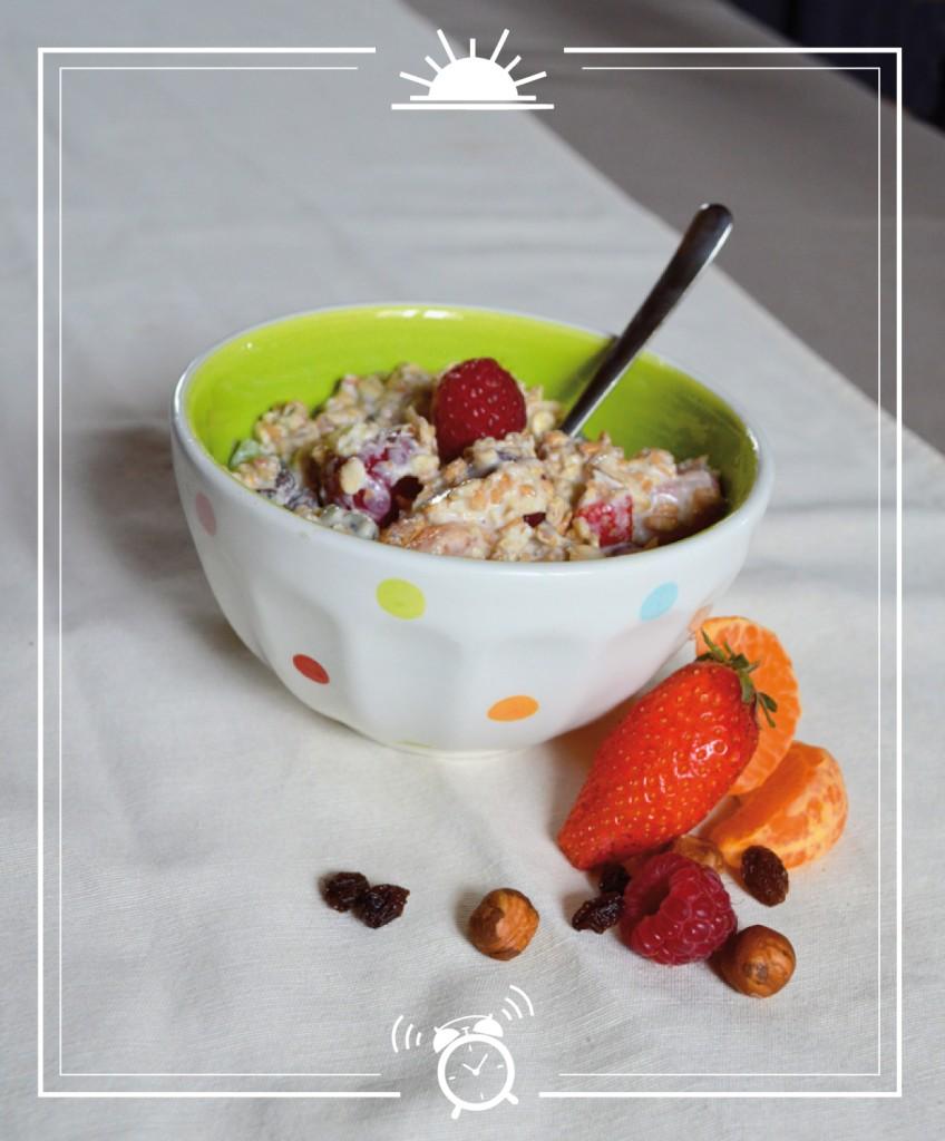"""La recette du vrai """"Bircher muesli"""" Suisse"""