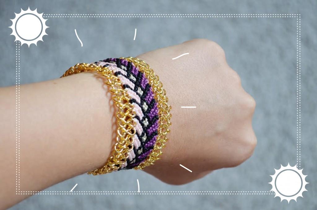Bracelet brésilien customisé