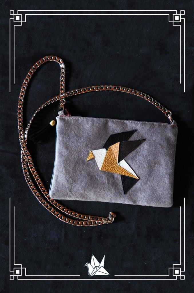 "Pochette ""origami"""